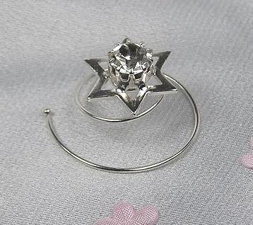 4f0e8f83dcb Spirála do vlasů - Krystal - stříbro 5805-0015-S00. Krystal - stříbro